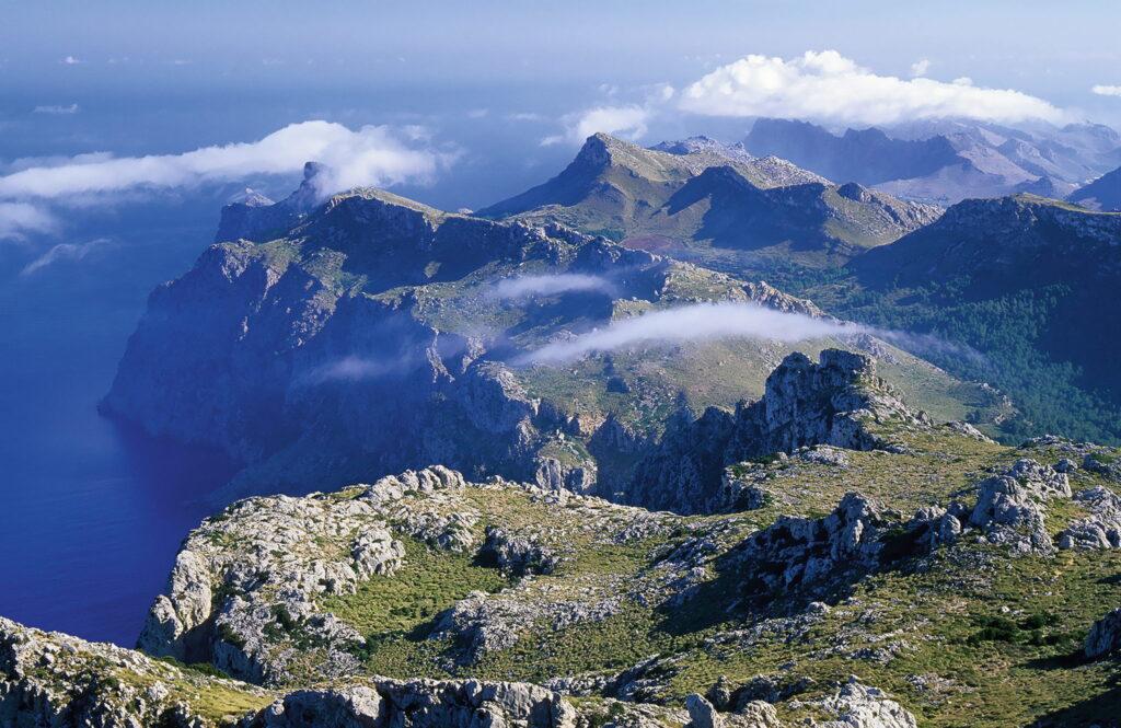 Imposante Landschaftsstrukturen der Serra Tramuntana FOTO © ARCHIVO ATB