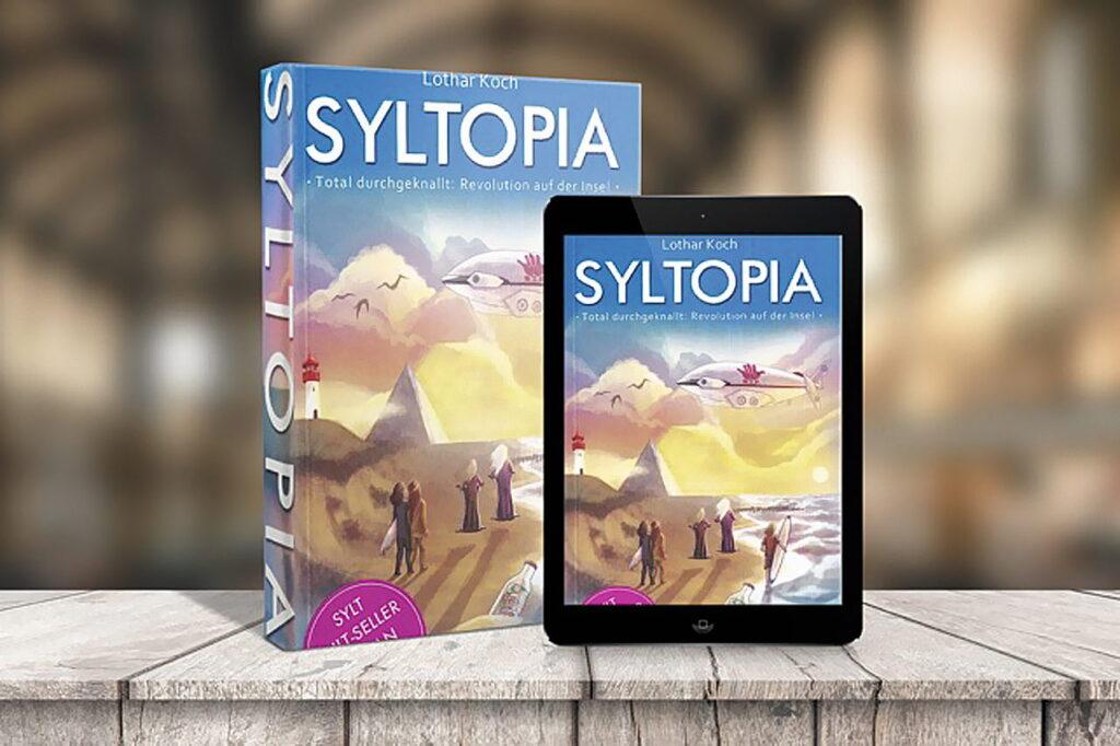 Syltopia - Lothar Kochs Roman als Print- und als e-Version FOTO © LOTHAR KOCH