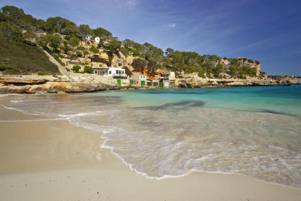 Palmas Strand im Frühjahrsmodus - leer
