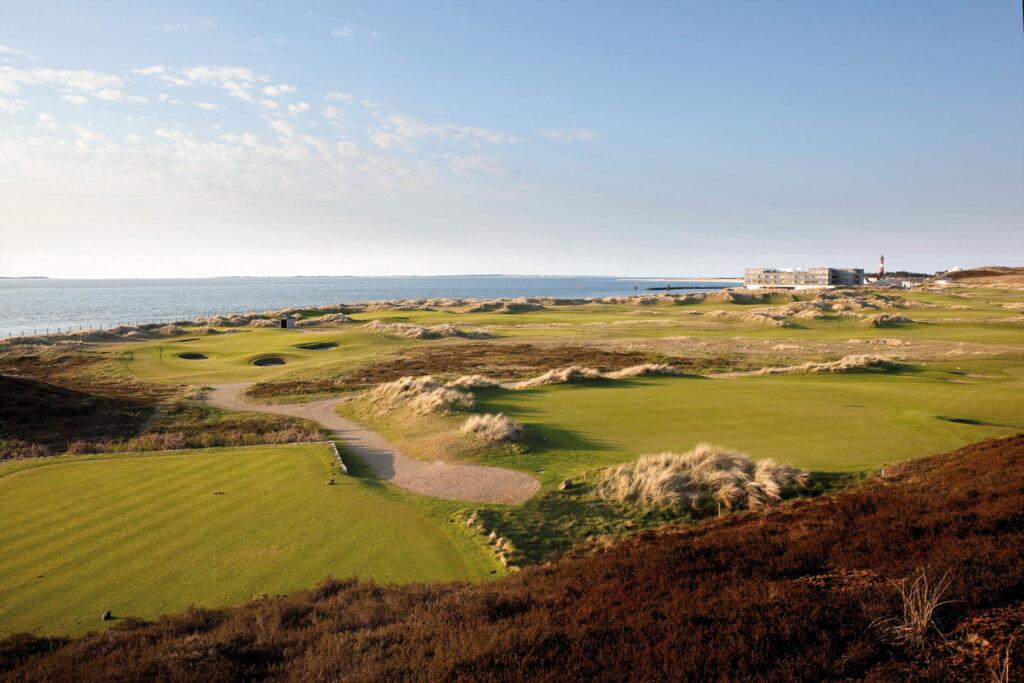 Dünen-Golf und Hotel bieten eine Einheit // © Hotel Budersand