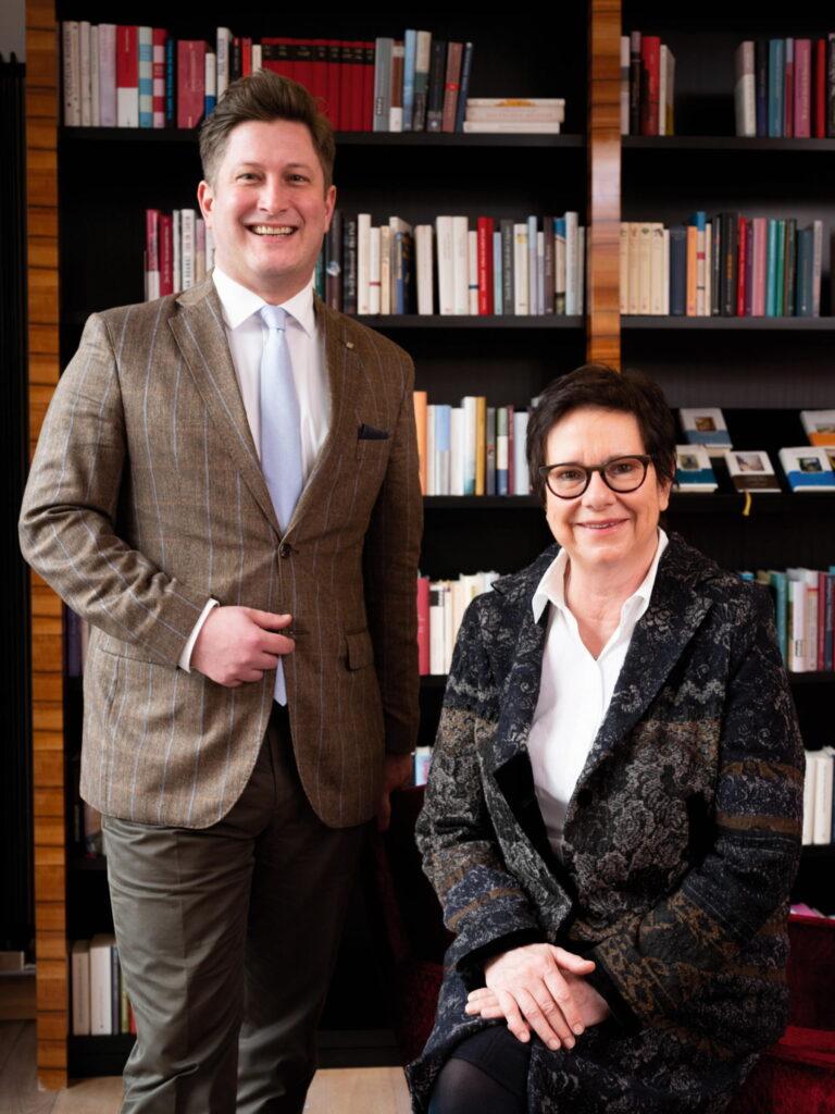 Claudia Ebert, Eignerin und guter Geist des Hauses, mit Geschäftsführer Marco Winter // © Magulski