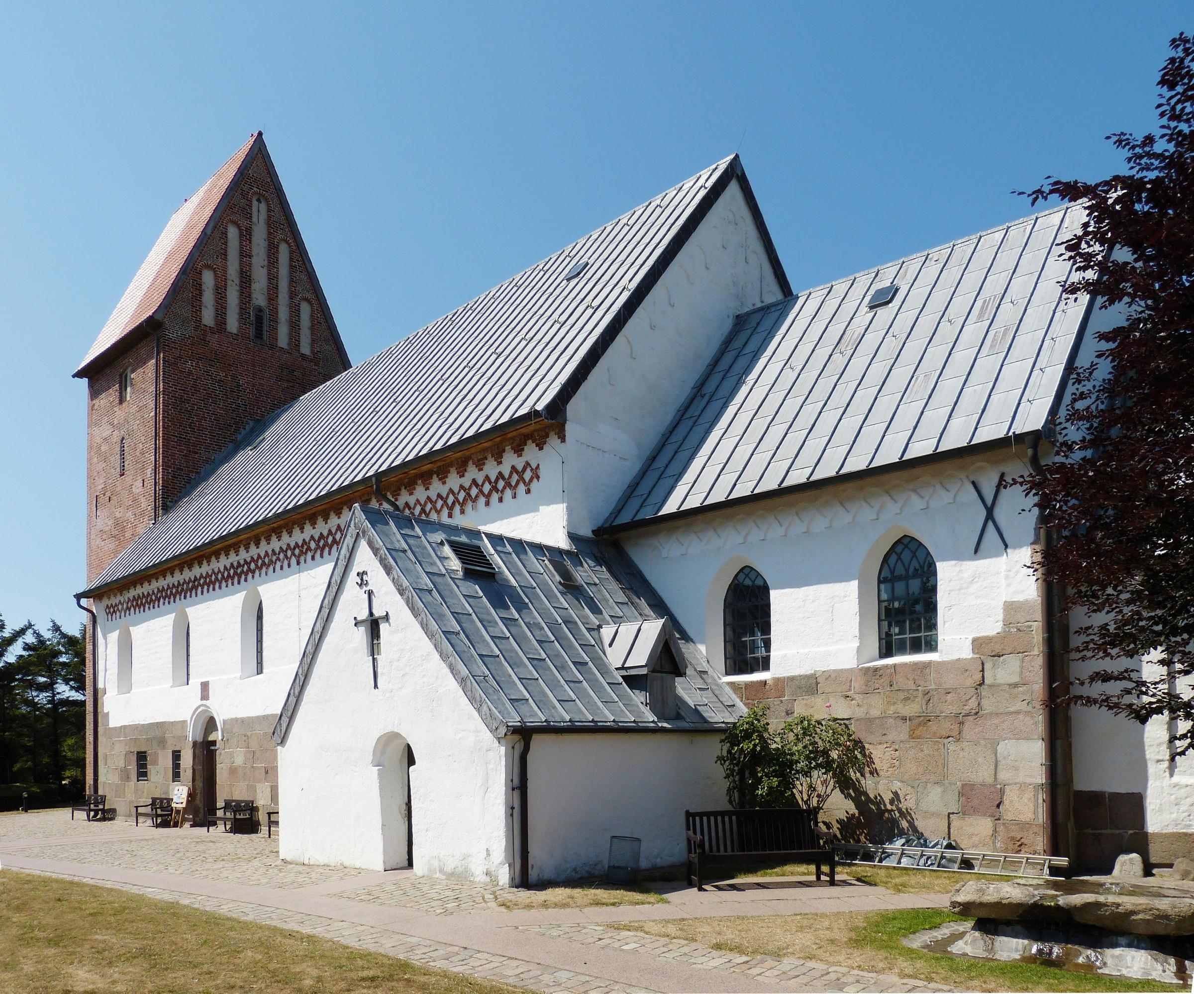Im Urlaub angekommen: Keitumer Kirche // Foto © Frank Nürnberger (Pixabay)